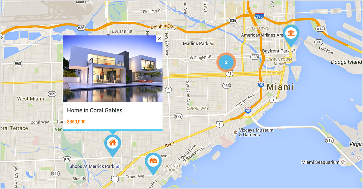 Five Ways How Realtors Can Use Google Maps Daytona Beach Real - How to change color of google map